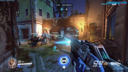 Overwatch - Gameplay de Halloween Eichenwalde