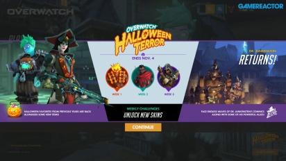 Overwatch - Opening de Halloween y Gameplay de la Venganza de Junkenstein