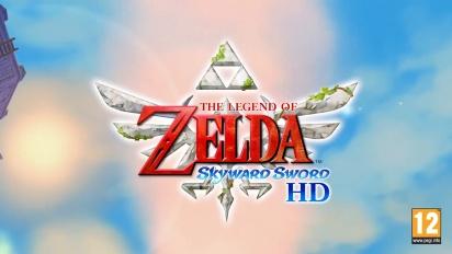 The Legend of Zelda: Skyward Sword HD- Tráiler de mejoras