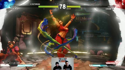 Street Fighter V - Gameplay dos horas con GR Live en español