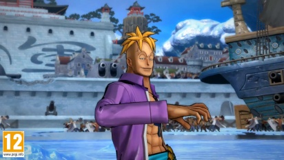One Piece: Burning Blood - Marco Move Set - Trailer