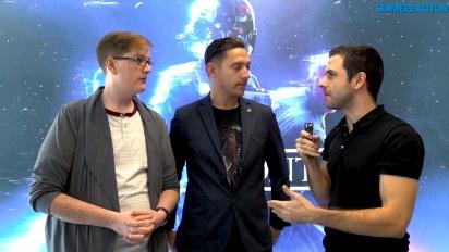 Star Wars Battlefront II - Entrevista a Chris Matthews y Mitch Dyer sobre el modo historia