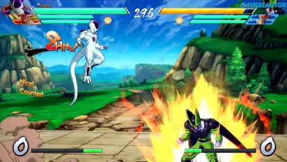 Dragon Ball FighterZ - Gameplay del modo arcade