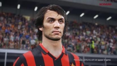 Pro Evolution Soccer 2018 - Tráiler de Leyendas de Milán en PES 2018