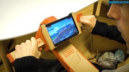 Nintendo Labo: Kit Variado - Gameplay del Toy-Con Caña y Moto
