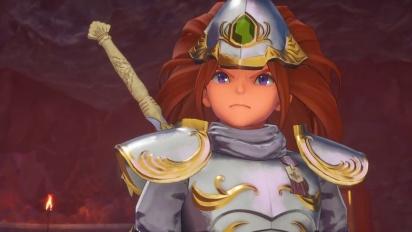 Trials of Mana -  The Sacred Sword Trailer