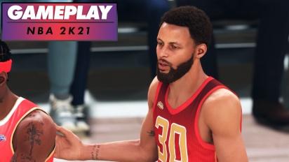 NBA 2K21 - Gameplay en PS5