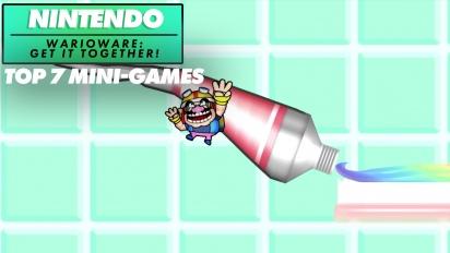WarioWare: Get It Together - Los 7 Mejores Microjuegos de Nintendo