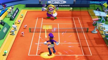 Mario Tennis: Ultra Smash - Gameplay de Duelos en Serie - Primeros 6 tiebreaks con Waluigi