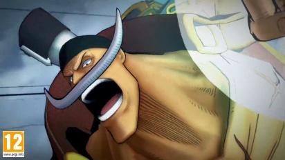 One Piece: Burning Blood - Barbablanca Move Set - Trailer