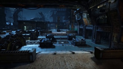 Gears of War 4 - Forge Multiplayer Map Flythrough