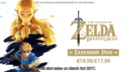 The Legend of Zelda: Breath of the Wild - Pase de expansión
