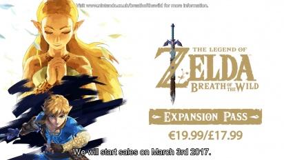 The Legend of Zelda: Breath of the Wild - Pase de expansión