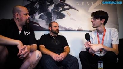 Destiny 2 - Entrevista a Thomas Gawrys & David Shaw