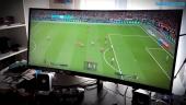 HP OMEN 35 Monitor X PES 2018 - Fútbol ultrapanorámico 21:9 (versión en inglés)