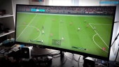 HP OMEN 35 Monitor X PES 2018 - Fútbol ultrapanorámico 21:9