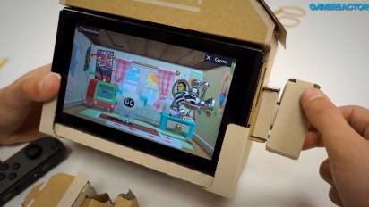 Nintendo Labo: Kit Variado - Montaje y Gameplay del Toy-Con Casa