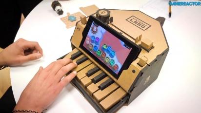 Nintendo Labo: Kit Variado - Gameplay y demostración del Toy-Con Piano