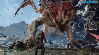 God of War - Gameplay: Cómo matar a un dragón