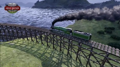 Railway Empire - DLC Great Britain & Ireland Trailer