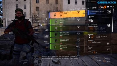 The Division 2 - Gameplay a un jugador en Control Point Demolition Site