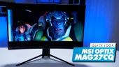 El Vistazo - MSI Optix MAG27CRCQ