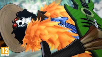 One Piece: Burning Blood - Brook Move Set - Trailer