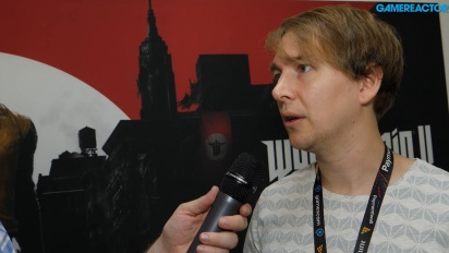 Wolfenstein II: The New Colossus - Tommy Tordsson Björk Interview