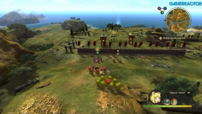 Ni no Kuni II: El Renacer de un Reino - Gameplay de The Battle for the Heartlands