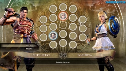 Soul Calibur VI - Gameplay Sophitia vs Mitsurugi