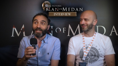 The Dark Pictures Anthology: Man of Medan - Entrevista a Tom Heaton y a Greg Howson
