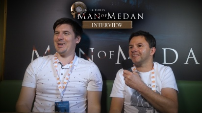 The Dark Pictures Anthology: Man of Medan - Entrevista a Robert Craig y a James Scalpello