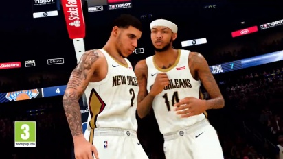 NBA 2K21 - Primer tráiler con gameplay (en español)