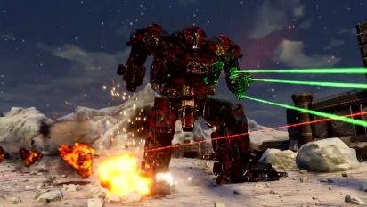 Mechwarrior 5: Mercenaries - Playstation Announcement Trailer