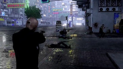Sleeping Dogs - Square Enix Character Pack: Agent 47 Trailer