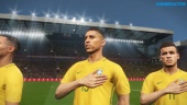 Pro Evolution Soccer 2018 - Intro con la selección brasileña cantando el himno