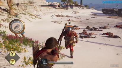 Assassin's Creed Odyssey - Gameplay batalla de conquista