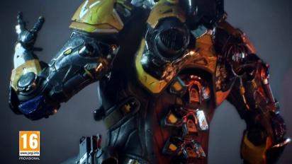 Anthem - Avance del tráiler de los Game Awards en español