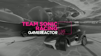 Team Sonic Racing - Livestream Replay