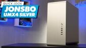 El Vistazo - Caja de PC Jonsbo UMX4 Silver