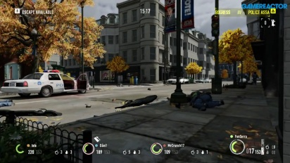 Payday 2 - Gameplay de atraco en Nintendo Switch