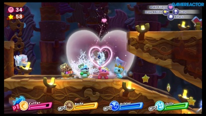 Kirby Star Allies - Gameplay de Cúpula Chocolate en Nintendo Switch