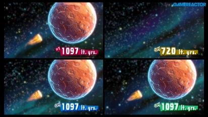 Kirby Star Allies - Gameplay del minijuego Batacazo estelar heróico en Nintendo Switch