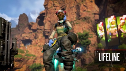Meet Lifeline - Apex Legends Character Trailer