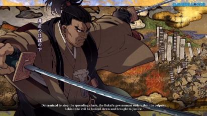 Samurai Shodown - Gameplay del modo Historia con Jubei Yagyu