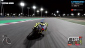 MotoGP 19 - Gameplay de novato: carrera de noche en Catar