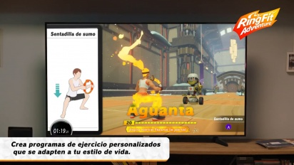 Ring Fit Adventure - Tráiler de lanzamiento español