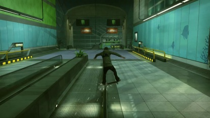Tony Hawk's Pro Skater HD - DLC Airport B-Roll