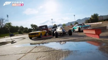 Forza Horizon 4 - Hot Wheels Legends Car Pack Trailer