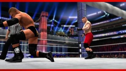 WWE 2K14 - Brock Lesnar Entrance and Finisher